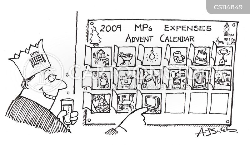 expenses claim cartoon