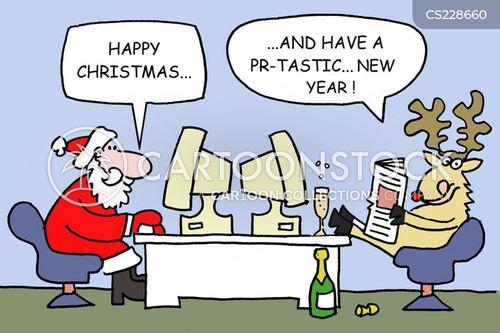 commercial holidays cartoon
