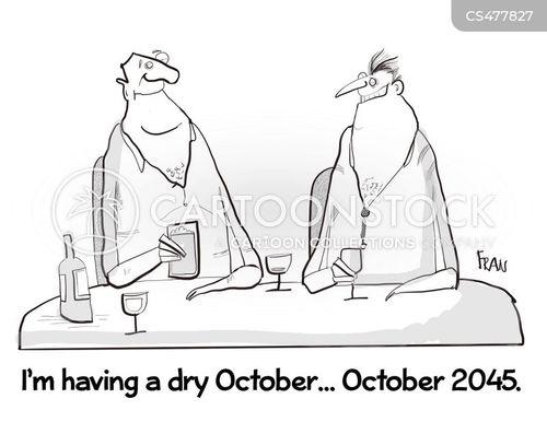 teetotallers cartoon