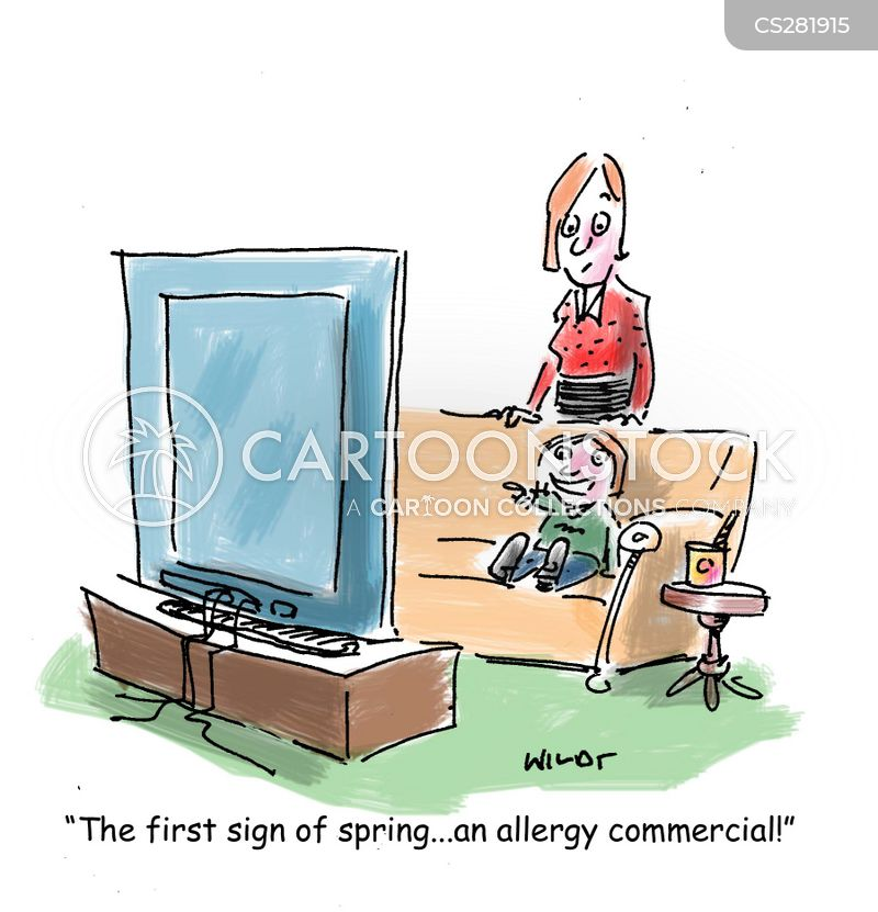first sign of spring cartoon