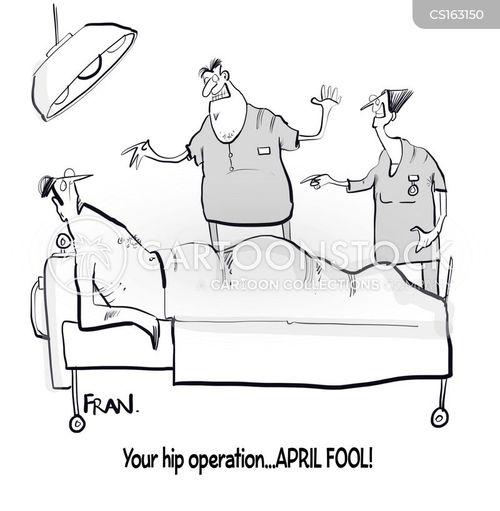 hip operations cartoon