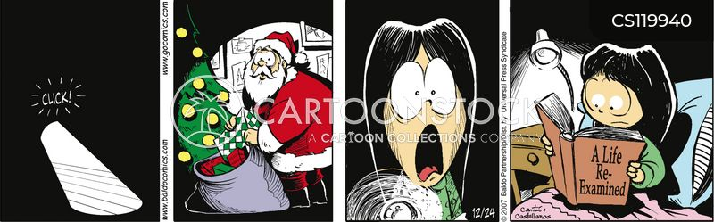 wait up for father christmas cartoon