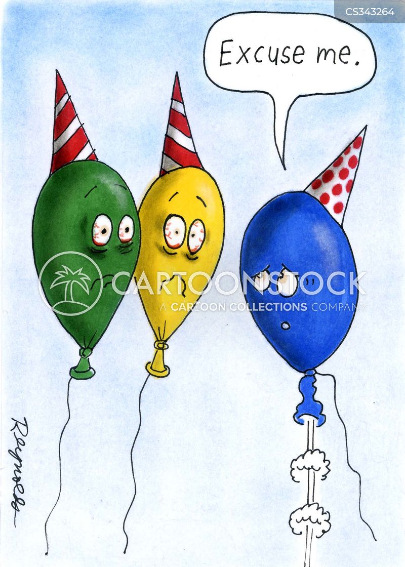 Birthday Balloons Cartoons And Comics Funny Pictures From CartoonStock