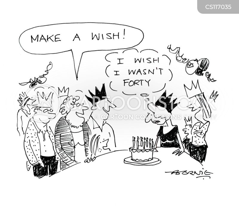 making wishes cartoon