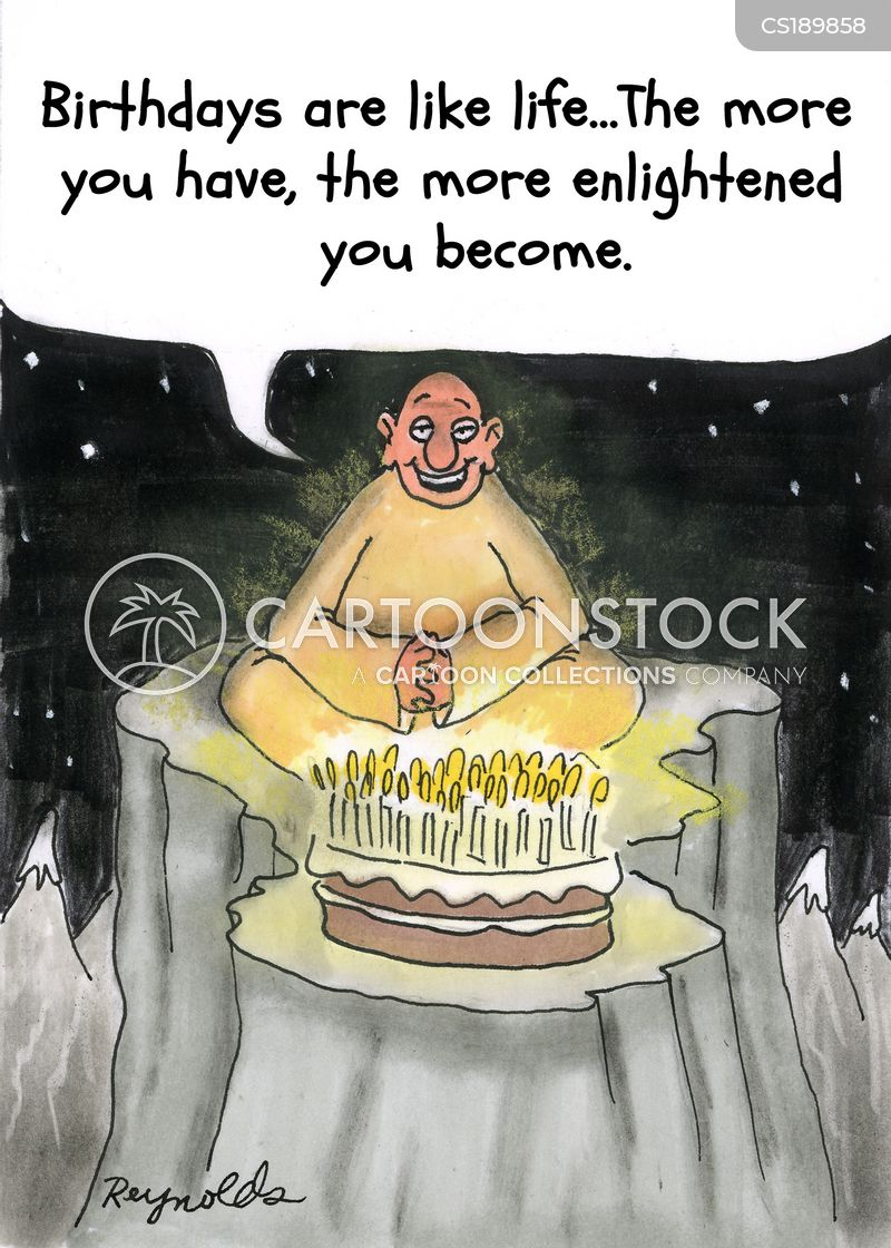 attaining enlightenment cartoon