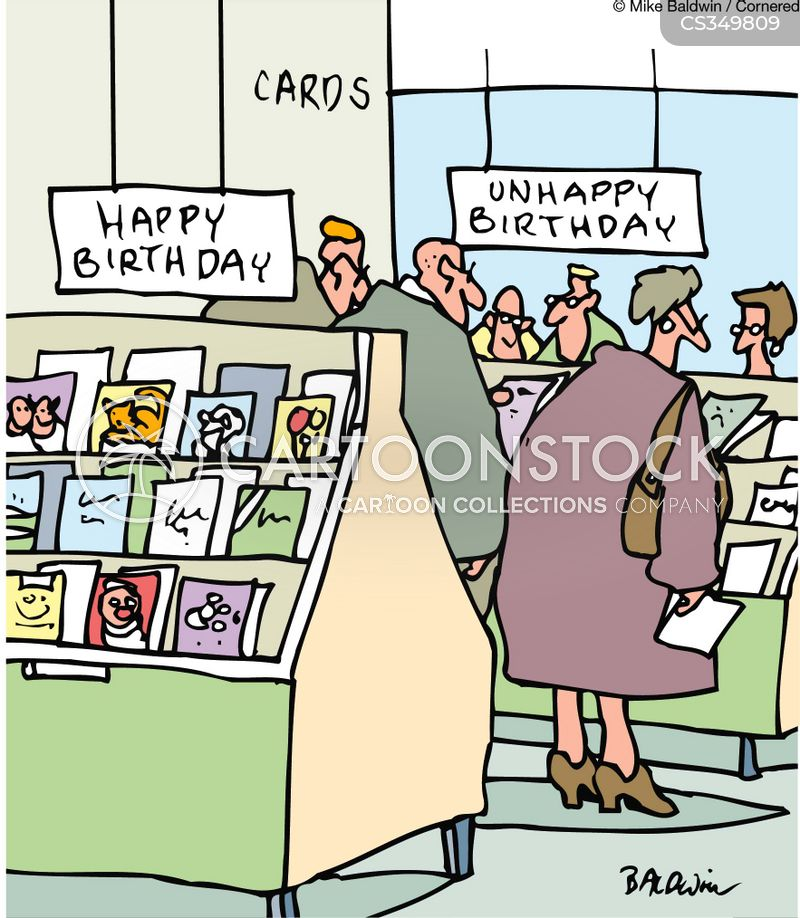 Dreading Birthdays Cartoons And Comics Funny Pictures From