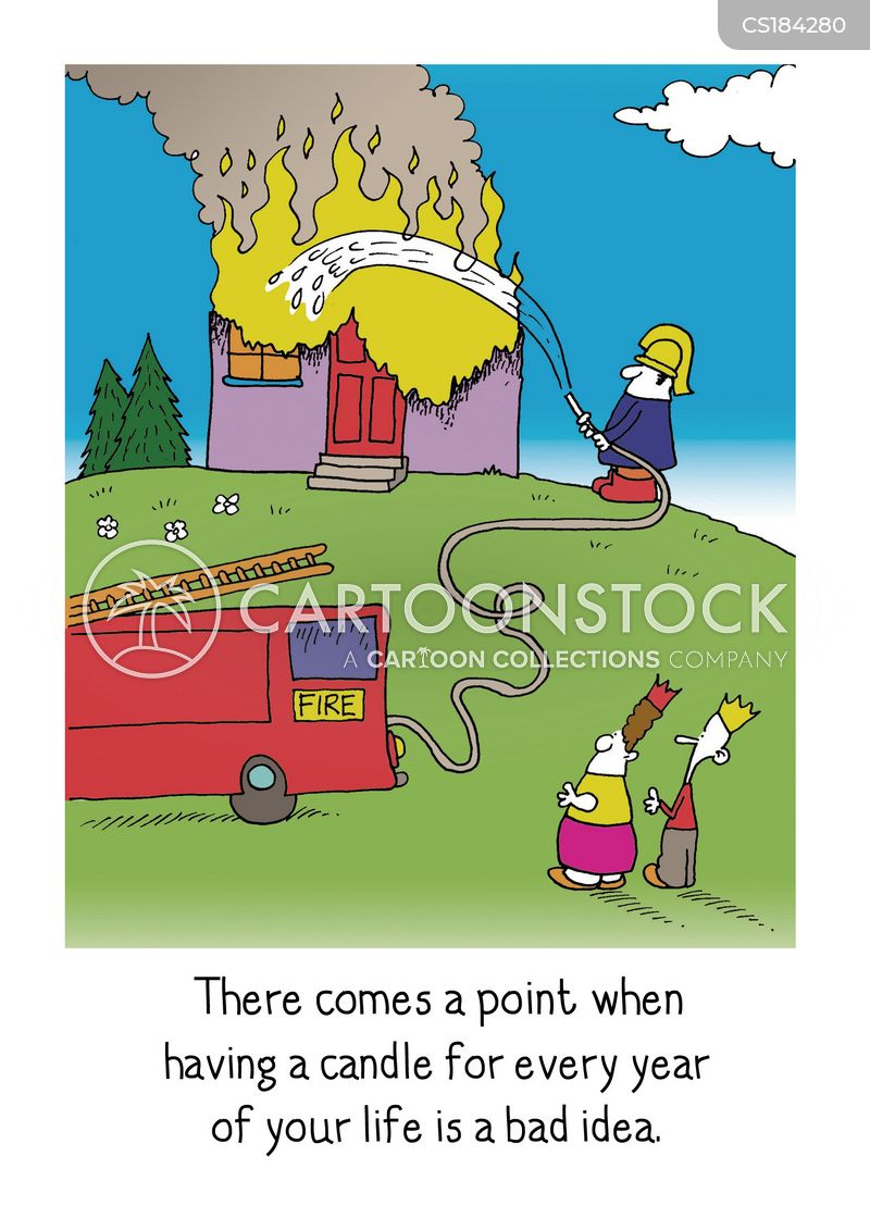 Flames Cartoons and Comics funny pictures from CartoonStock