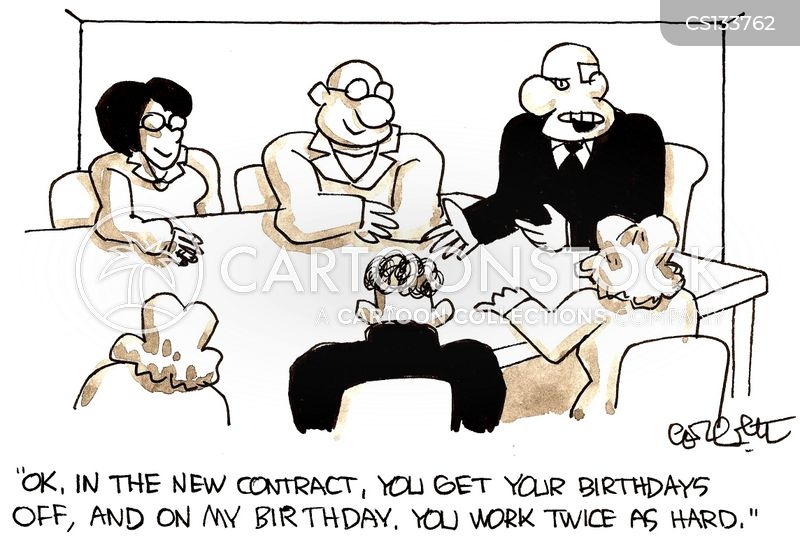 New Contract Cartoons And Comics Funny Pictures From Cartoonstock