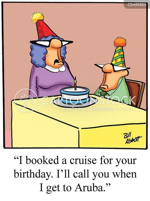 birthday treat cartoon