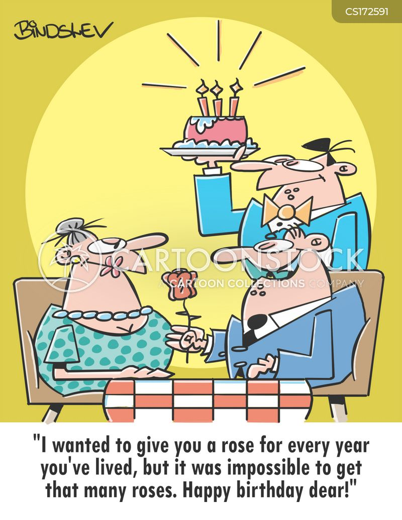 Happy Birthday Cartoons and Comics - funny pictures from