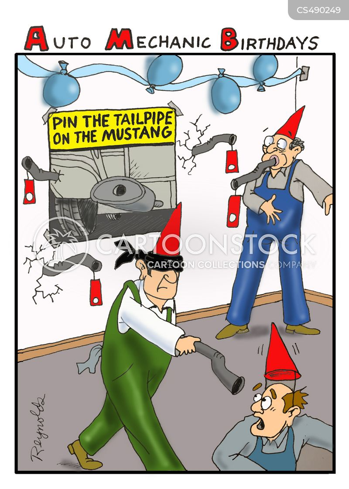 birthday game cartoon