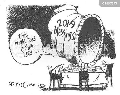 so many blessings cartoon