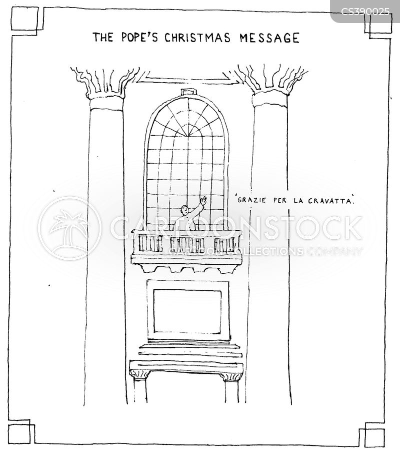 john paul cartoon