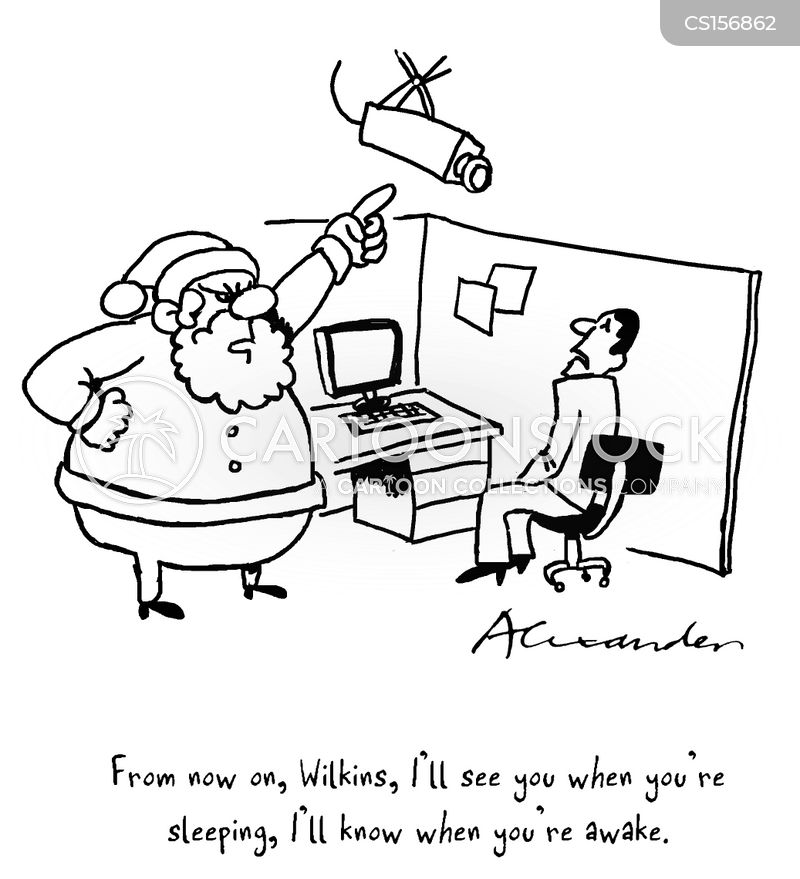 santa claus is coming to town cartoon