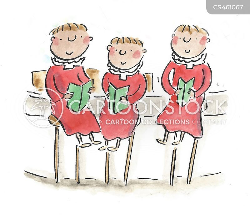 choirboy cartoon