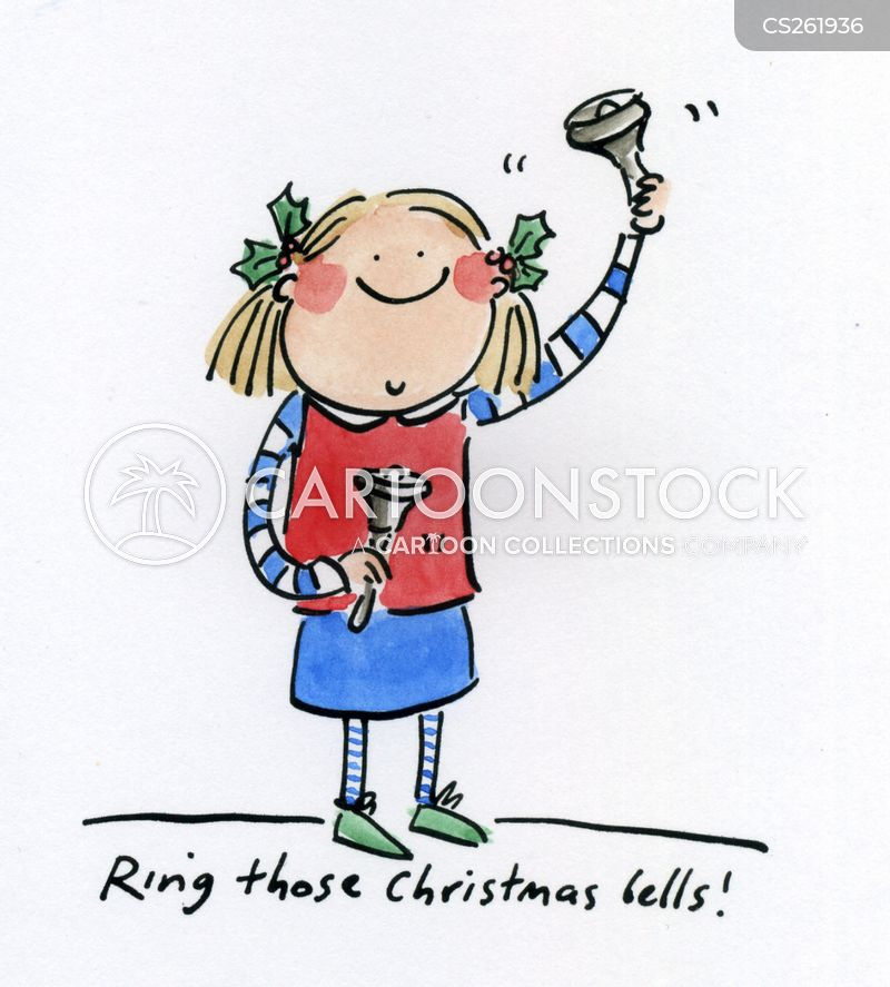 christmas bells cartoon