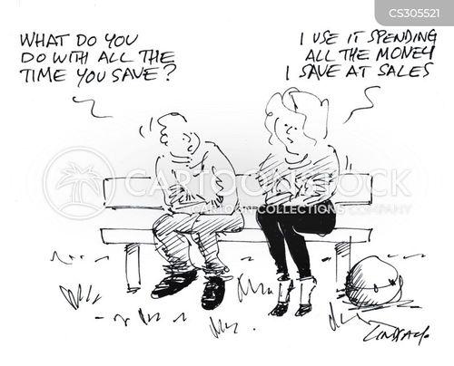 xmas sale cartoon