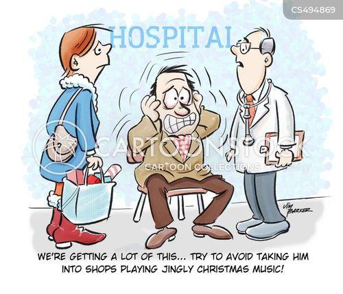 festive music cartoon