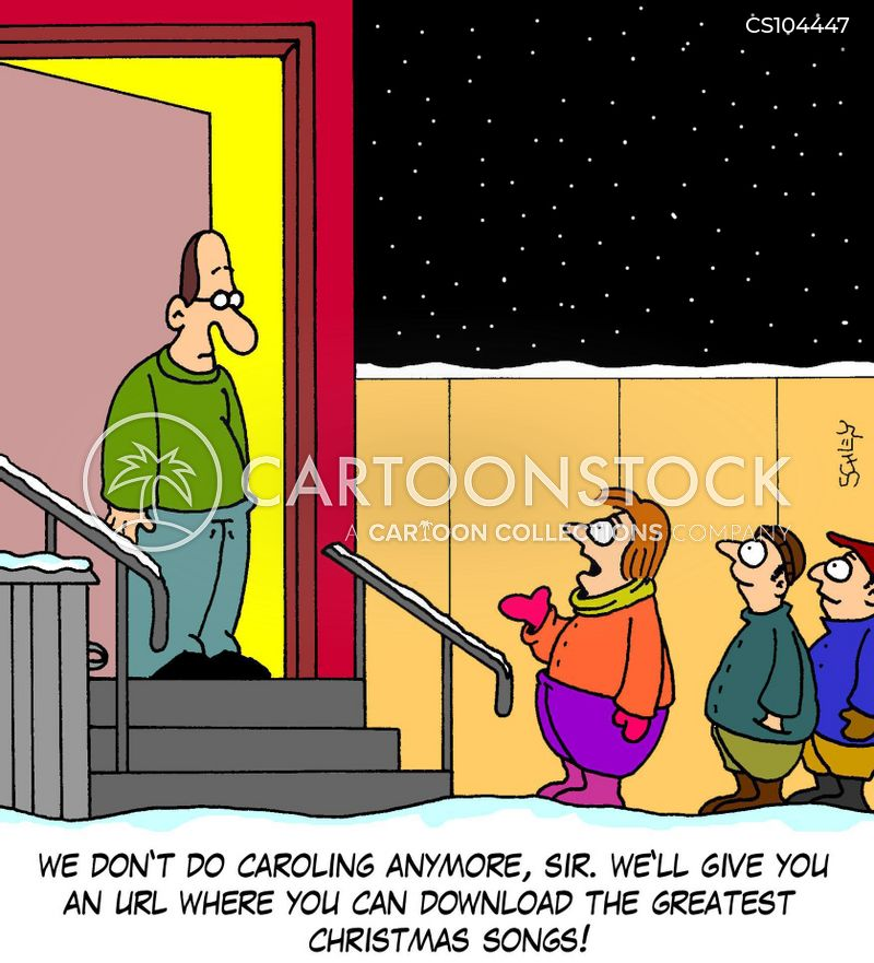 christmas traditions cartoon