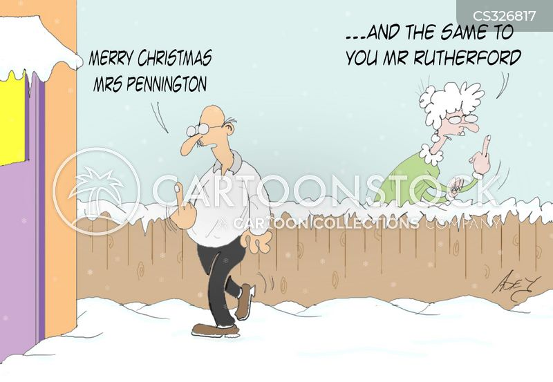 christmas cheer cartoon