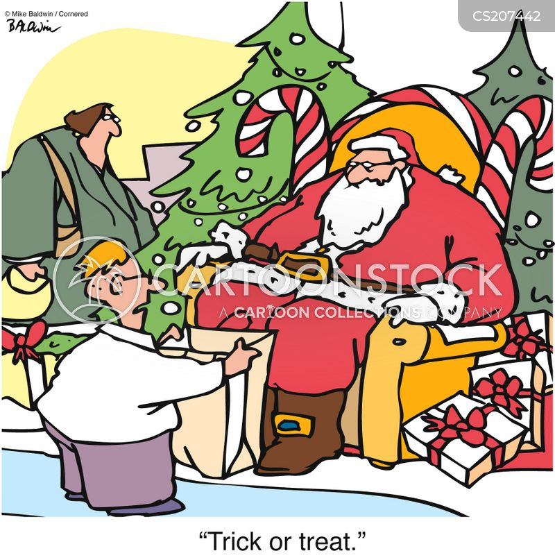 believing in santa cartoon