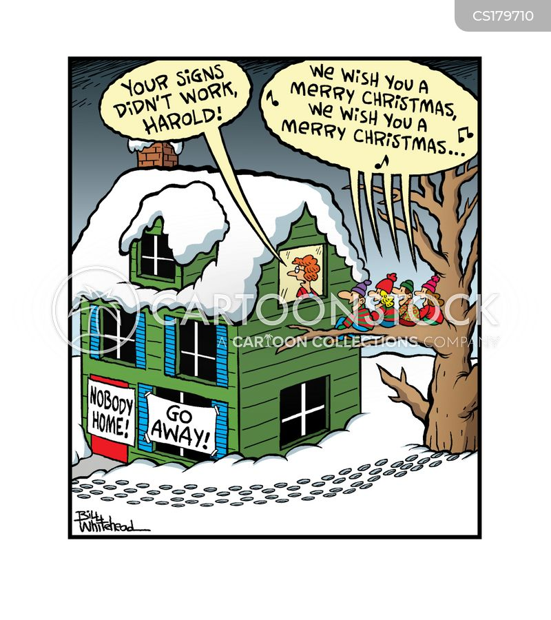 scrooges cartoon