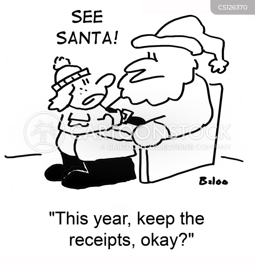 keep receipts cartoon