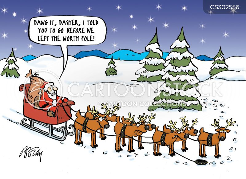 dasher cartoon