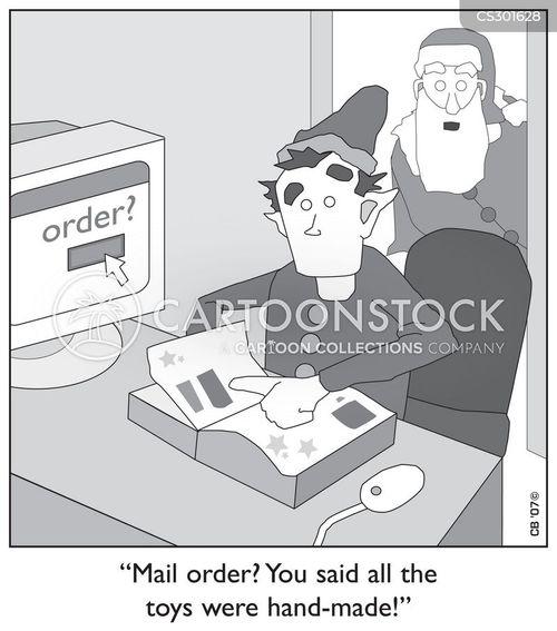 online store cartoon