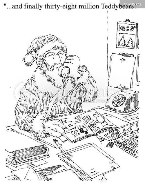 catalogue shopping cartoon