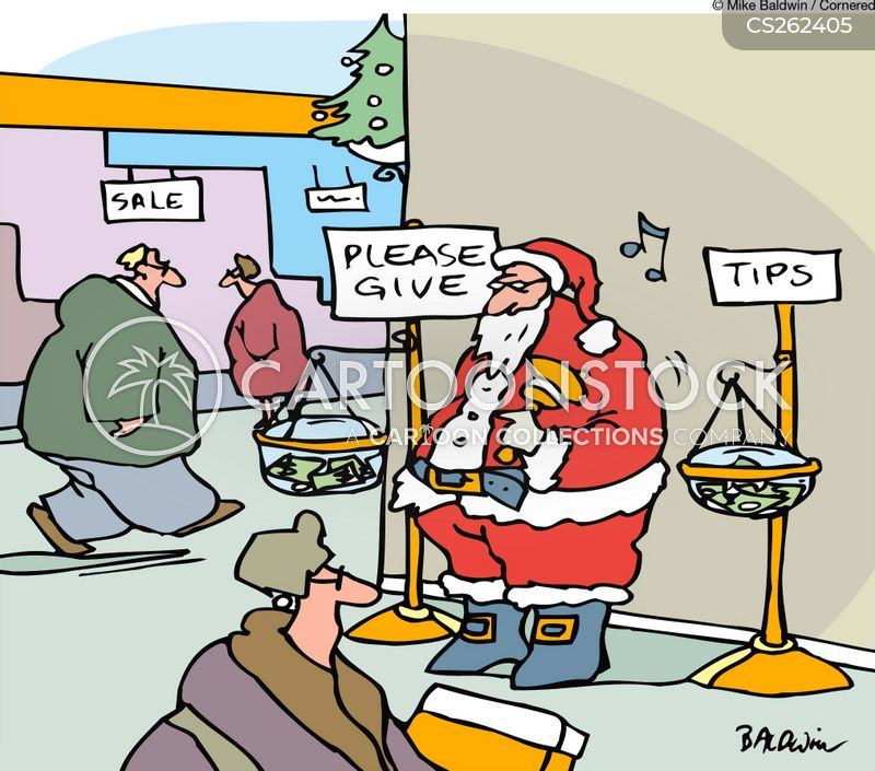 tip jars cartoon