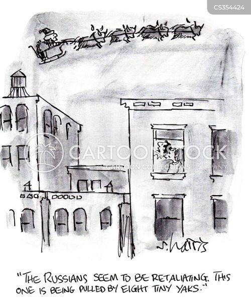retaliating cartoon