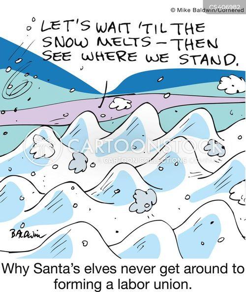 freezing temperatures cartoon