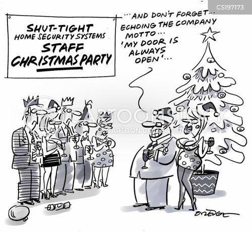 security system cartoon