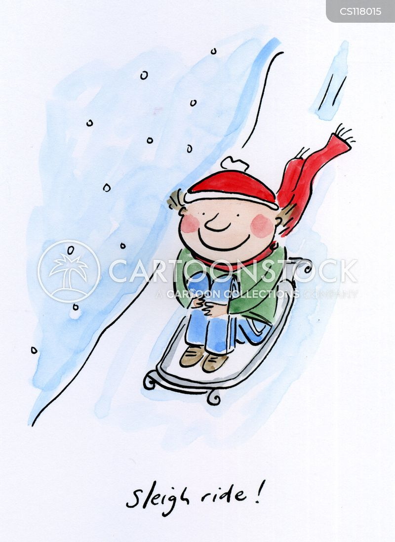 Sleigh Rides Cartoons And Comics Funny Pictures From Cartoonstock