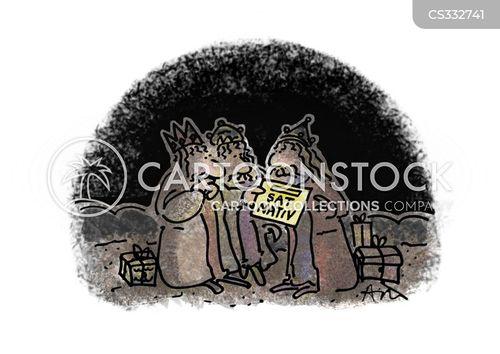 the 3 kings cartoon