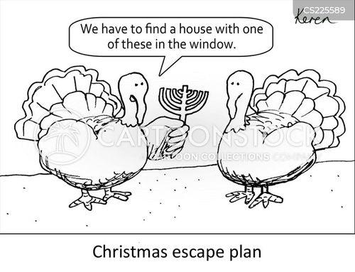 chanukah cartoon