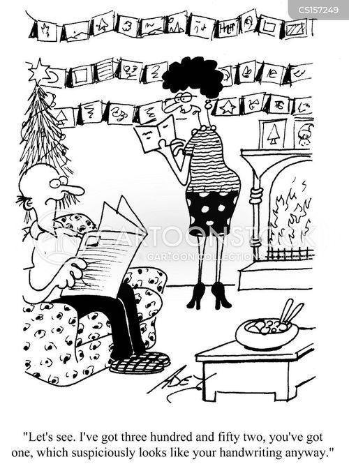 seasons greetings cartoon