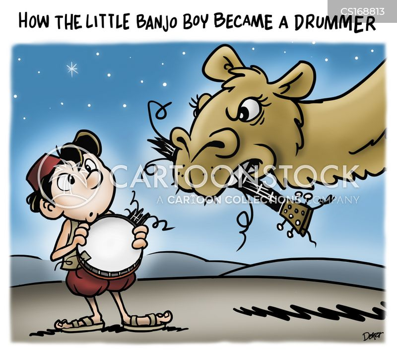 drummer boy cartoon