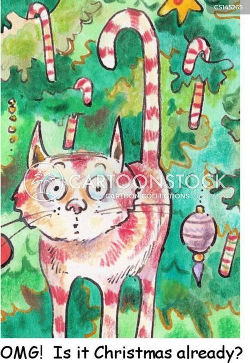festive holiday cartoon