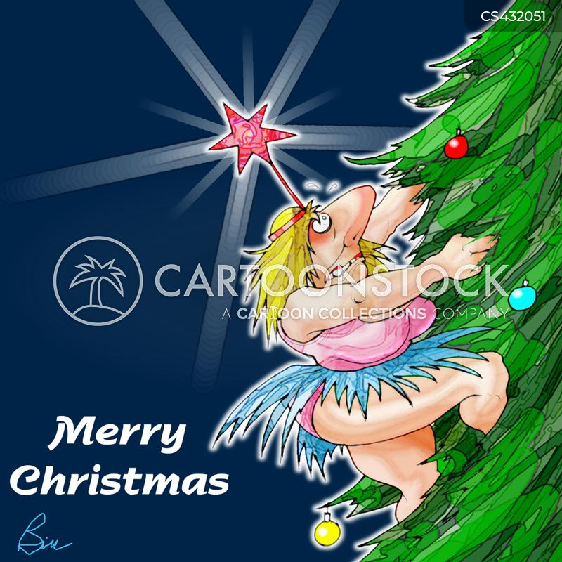 christmas fairies cartoon