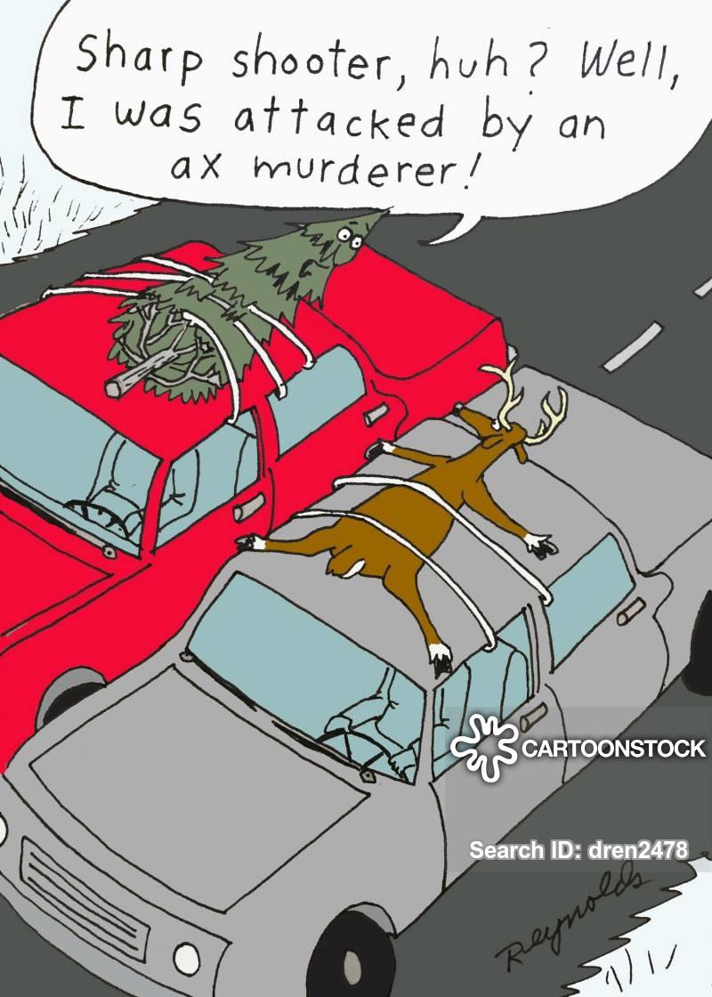 axe murderers cartoon