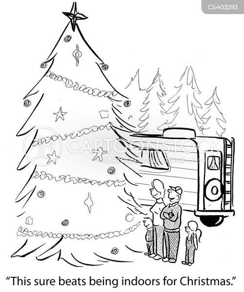 festive mood cartoon