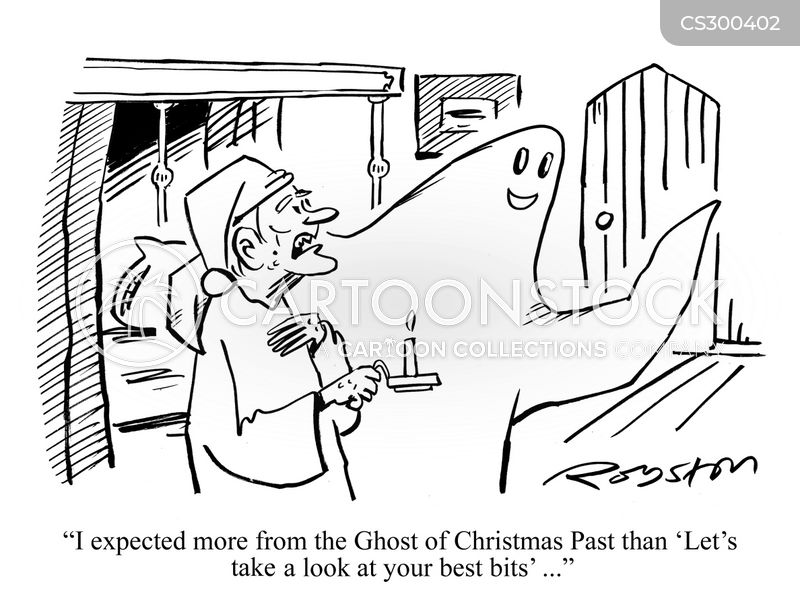 Ghost Of Christmas Past Cartoons and Comics  funny pictures from