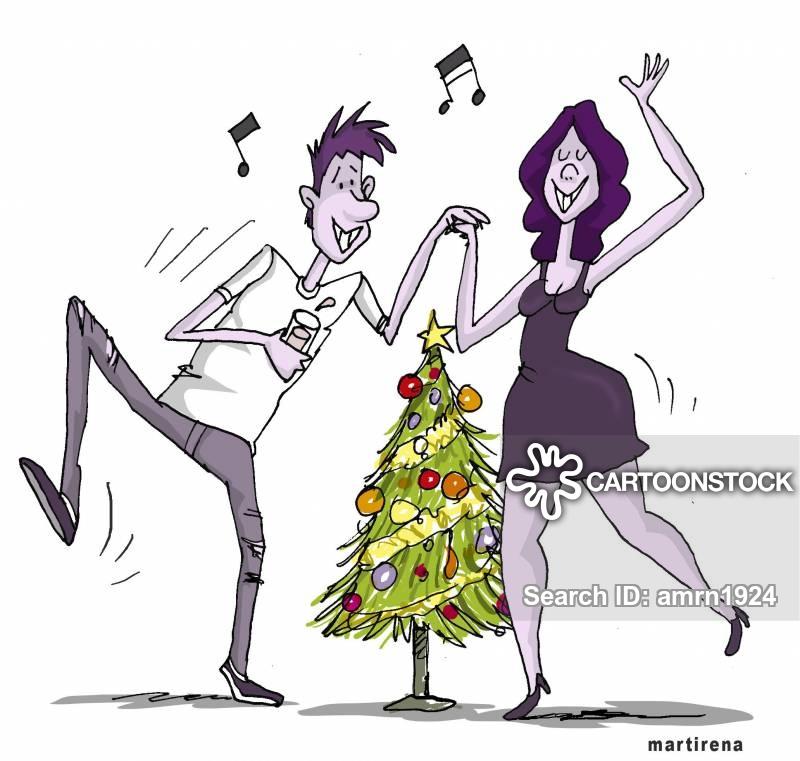 Christmas Dancing Cartoon.Xmas Dances Cartoons And Comics Funny Pictures From