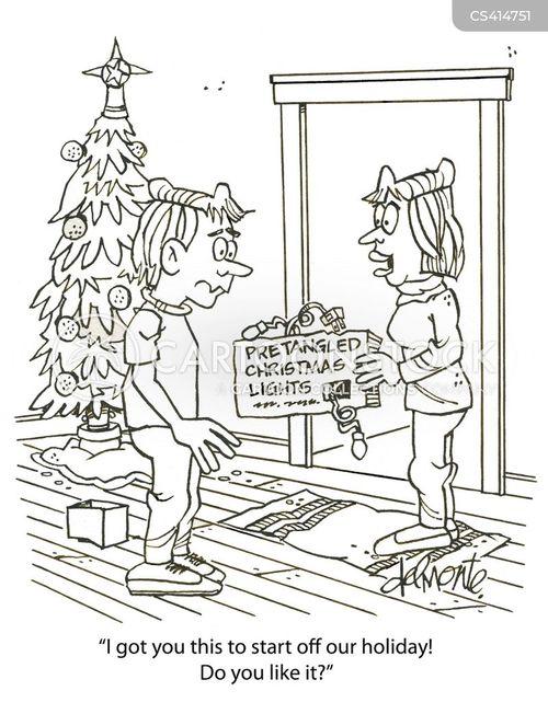 holiday spirit cartoon