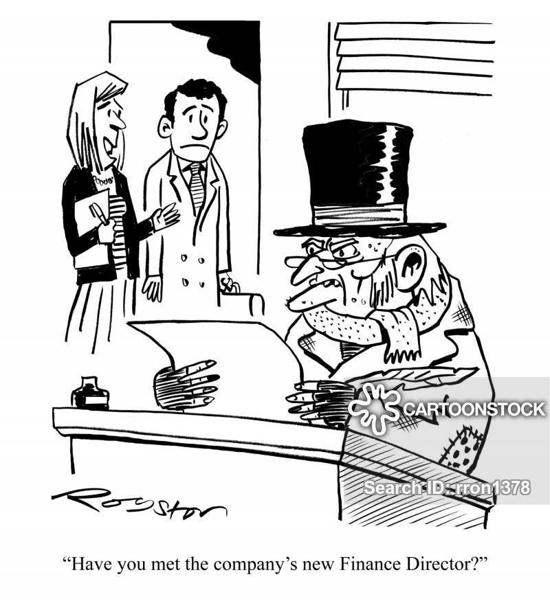 financaldirector cartoon