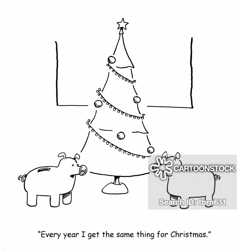 gift-giving cartoon