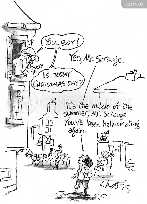 ebenezer scrooge cartoon