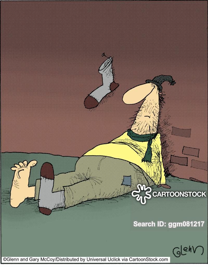 hung cartoon